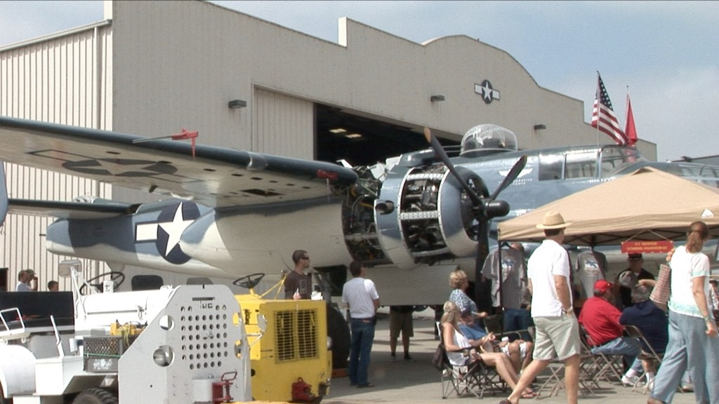Just one of the many great aircraft on display at the Wings over Camarillo Show